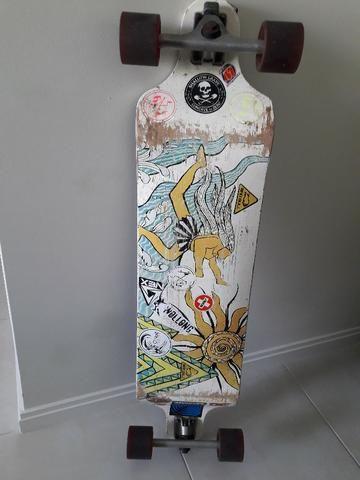 Skate longboard koston rebaixado - Foto 4