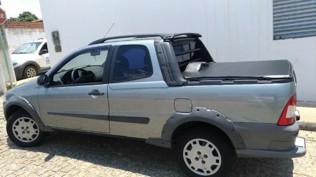 Fiat Strada Working 1.4 Flex - Cabine Dupla - Completa Ano Modelo 2012 - Foto 12