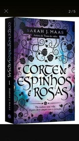 Coleção corte de espinhos e rosas- 4 volumes - Foto 3