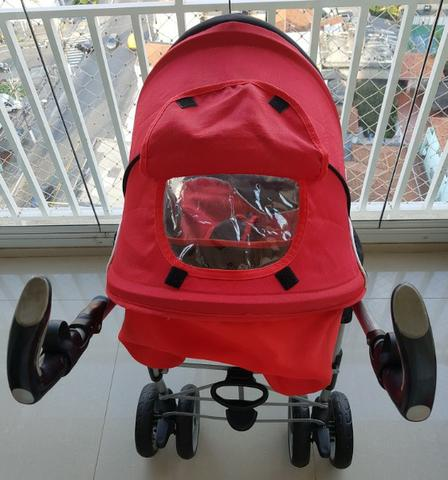 Carrinho + bebê conforto + base isofix Infanti - Foto 3