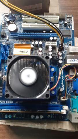 Vendo cpu montado é formatados - Foto 3