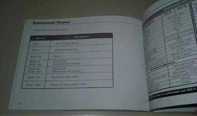 Manual Toyota Bandeirante 14b - Foto 4