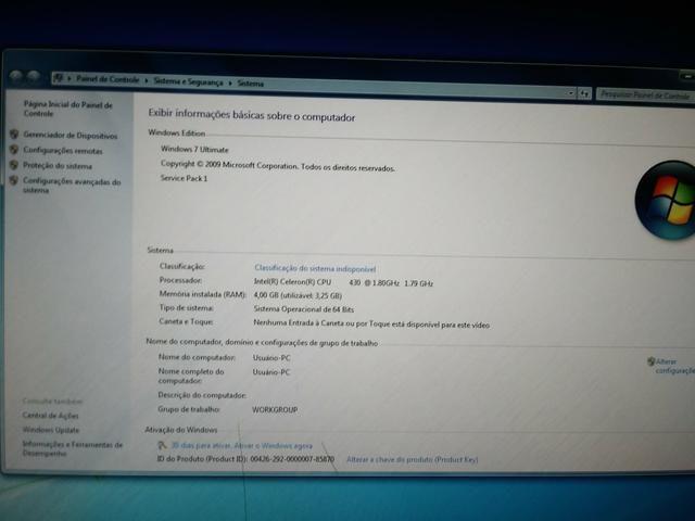 CPU + Impressora HP