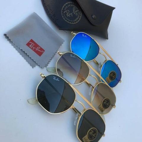0781f80c04c5c Promo Óculos Ray-Ban Hexagonal - Bijouterias