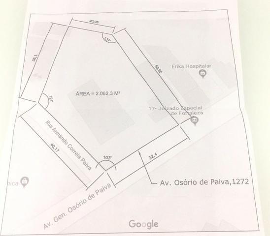 Oportunidade - Terreno Osório de Paiva 2.060m² - Foto 4
