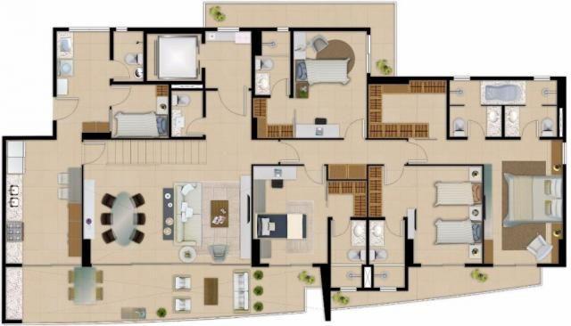 Apartamento residencial à venda com 04 suítes, aldeota, fortaleza. - Foto 20