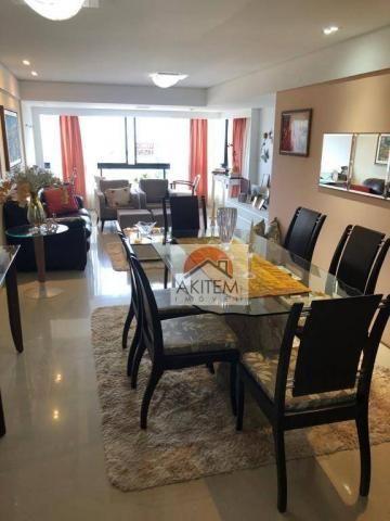 Apartamento na Beira Mar com 4 dormitórios à venda, 146 m² por R$ 620.000 - Casa Caiada -  - Foto 6
