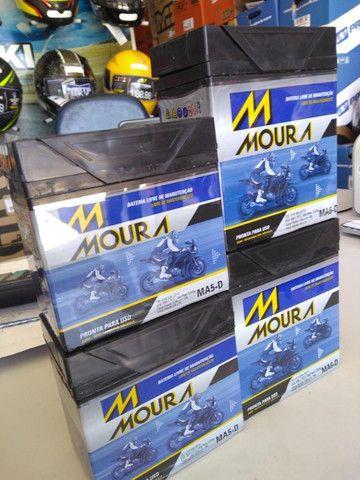 Bateria Moura fan titan factor Xre300 entrega todo Rio