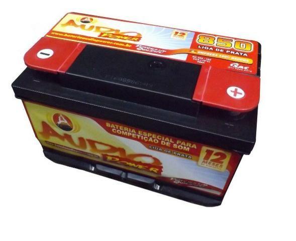 Promoção Bateria Audio Power 95ah/850ah Pico Som Automotivo ou Arranque - Foto 2