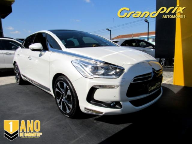 CITROËN DS5 2016 1.6 SO CHIC 16V 165CV TURBO INTERCOOLER GASOLINA 4P AUTOMÁTICO BRANCO