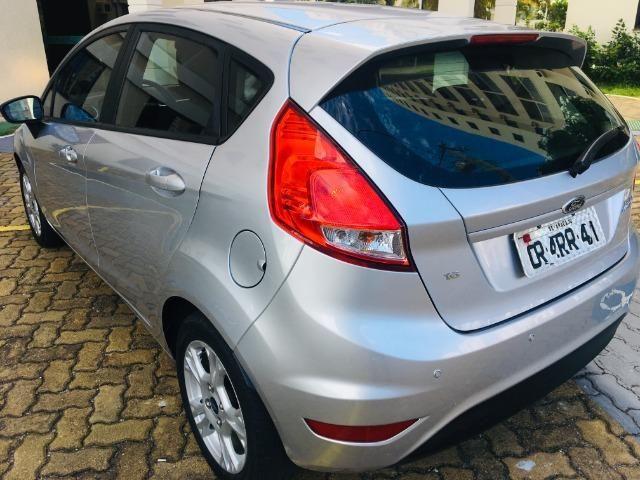 New Fiesta SE 1.6 Flex 2014/2014, Única Dona, Todo original, IPVA pago, Impecável - Foto 7