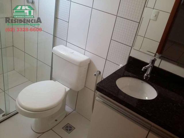 Apartamento com 3 dormitórios para alugar, 88 m² por R$ 1.500,00/mês - Jundiaí - Anápolis/ - Foto 9
