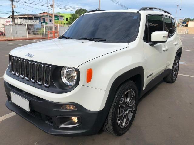 '' Praticamente Zero, Jeep Renegade Longitude 1.8 4X2 Automático 2017/2017 ''