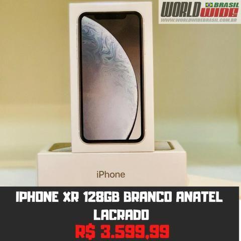IPhone Xr 128gb Branco Tela 6,1 Anatel Nacional - Lacrado