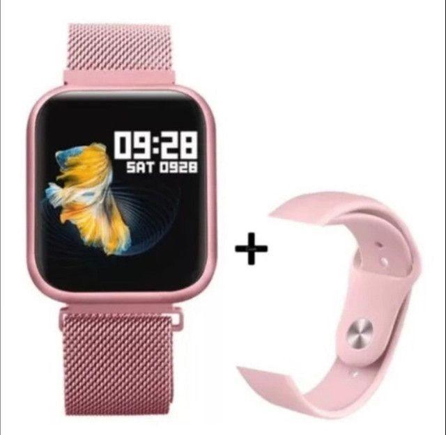 Relógio inteligente P80 Smart Watch - Foto 3