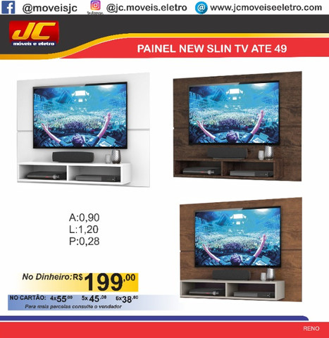 Painel New Slin tv ate 49 b