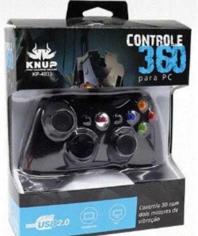 Controle Para Pc Com Fio Knup Kp-4033 - Foto 2