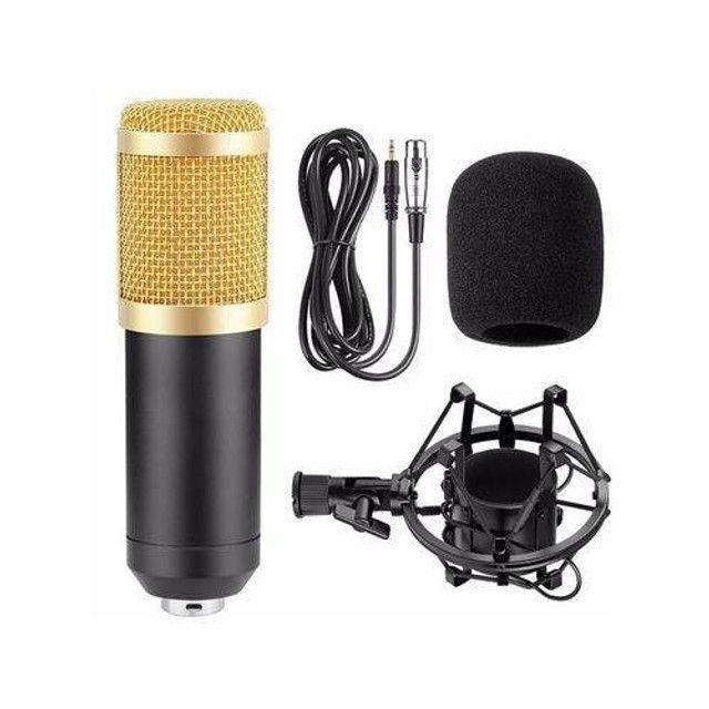 Microfone Estúdio Profissional Condensador Youtuber Andowl 7451 - Foto 3