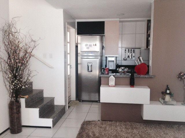 Village Dunas Del Mare, casa tríplex com 3 quartos, 2 vagas, Manoel Dias Branco - Foto 2