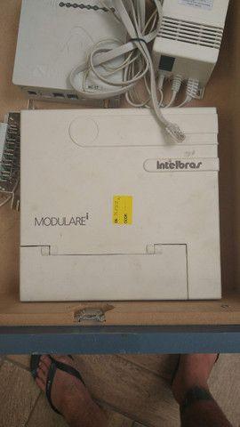 central telefônica intelbras modulare e equipamentos
