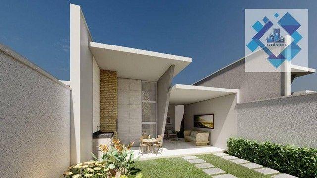 Casa com 3 dormitórios à venda, 98 m² por R$ 340.000 - Parnamirim - Eusébio/CE - Foto 2
