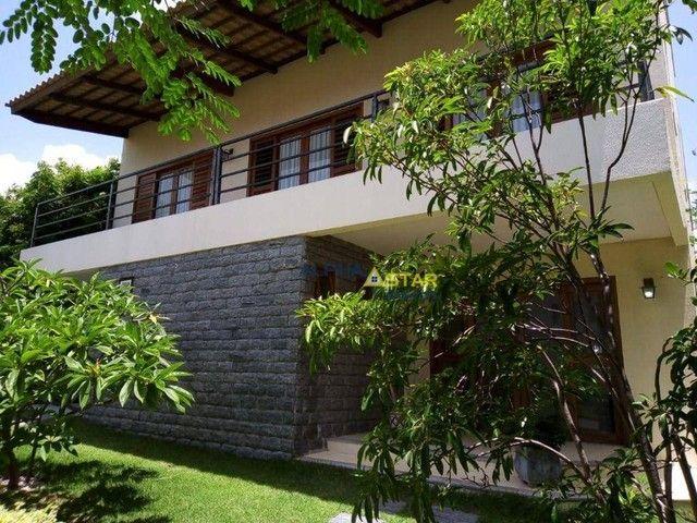 Casa com 3 dormitórios à venda, 429 m² por R$ 3.200.000,00 - Alphaville Fortaleza - Eusébi