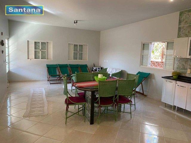 Chale de Laje com 4 dormitórios todos suites, à venda, 165 m² por R$ 250.000 - Mansões das - Foto 7