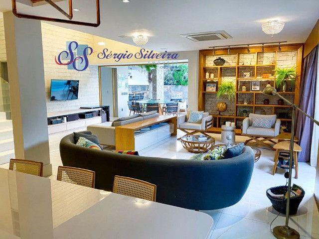 Casa no Alphaville Fortaleza mobiliada e climatizada, com piscina privativa, alto padrão - Foto 6