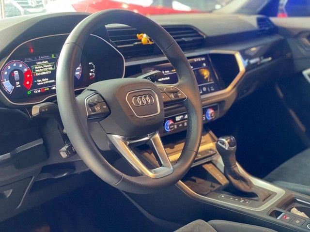 Audi Q3 2021, 1.4 35 TFSI BLACK S LINE S TRONIC, apenas 3.000 km, configuração exclusiva  - Foto 10