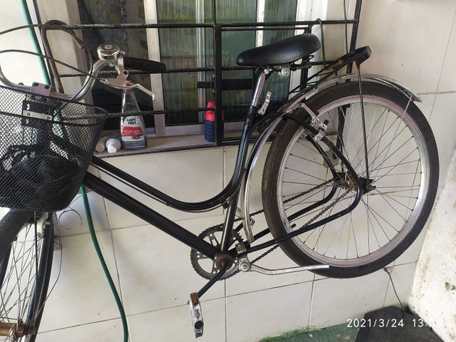 Bike Ceci customizada simples.