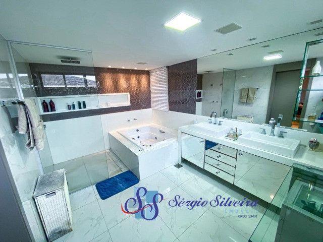 Casa no Alphaville Fortaleza mobiliada e climatizada, com piscina privativa, alto padrão - Foto 9