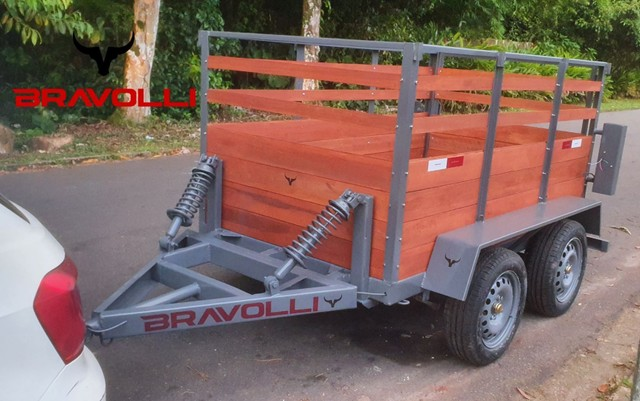 Reboque trucado ' Carretinha BX 1.4 BRAVOLLI  - Foto 3