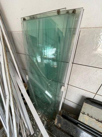 Porta de correr em Vidro temperado 10mm - Foto 4