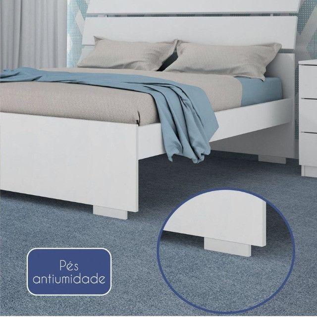 Cama Casal Premium 100% MDF - Foto 5