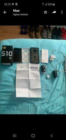 Samsung s10e slim 128 gbs divido 3x 4gbs ram 6 meses de uso - Foto 3