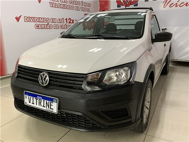 Volkswagen Saveiro 2021 1.6 msi robust cs 8v flex 2p manual - Foto 4