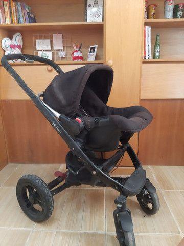 Carrinho de bebe Norton 3 em 1 moises, Mobi e carrinho - Foto 5