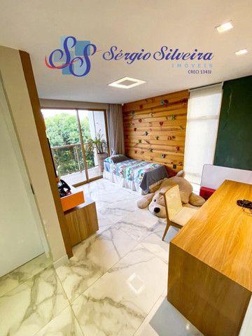 Casa no Alphaville Fortaleza mobiliada e climatizada, com piscina privativa, alto padrão - Foto 12