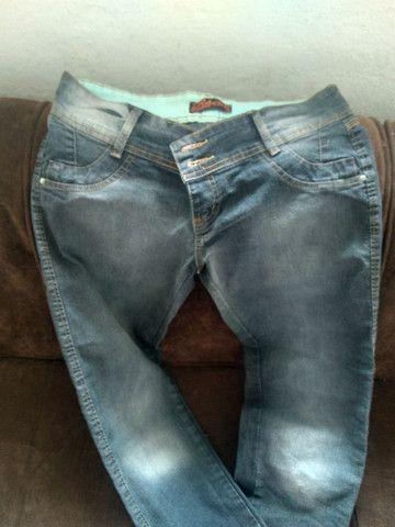 Calças jeans 38 ao 40 - Foto 2