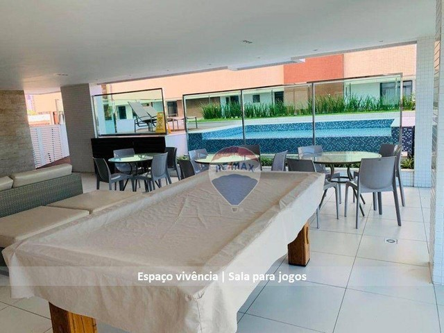 Aluga ótimo apto, 2 suítes, posição sul, por R$ 2.400 Cabo Branco ? João Pessoa/PB - Foto 18