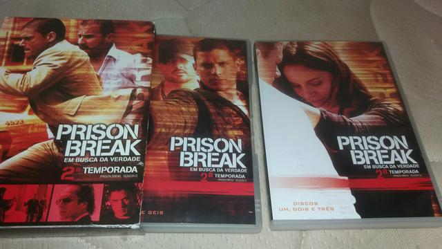 Vendo serie prison break 1 a 5 temporanda