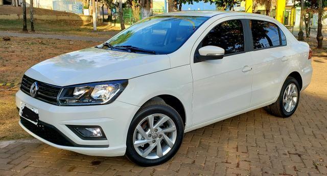 Aceita Troca VW Voyage 1.6 MSI Flex Automático Único Dono Baixo Km