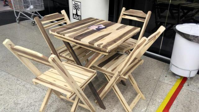 Mesa de madeira (ideal para bar e restaurante) novas - Foto 2