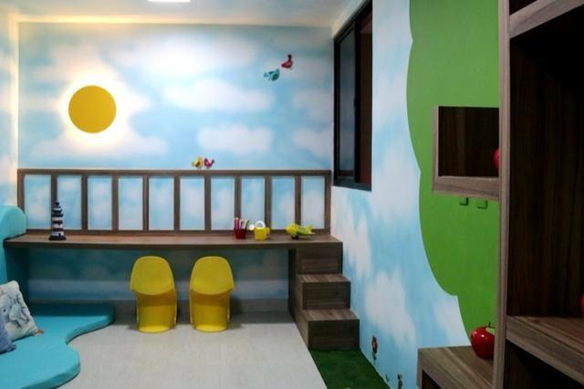Apt novo, nascente, Jatiúca,3 quartos,1 suíte, 2 vagas, 110 m², área de lazer, só 594 mil! - Foto 5