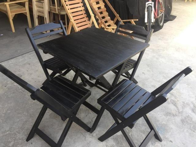 Mesa de madeira (ideal para bar e restaurante) novas - Foto 4