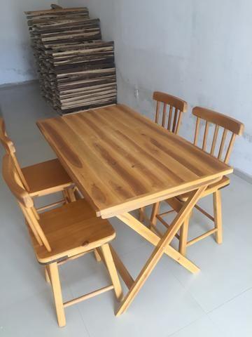 Mesa de madeira (ideal para bar e restaurante) novas - Foto 3