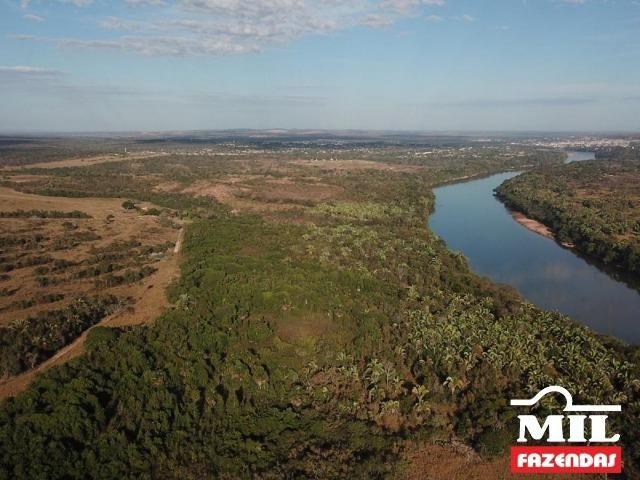 4 km de margens do Rio Araguaia. Fazenda 96 alqueires 464.64 Hectares - Aragarças-GO - Foto 6