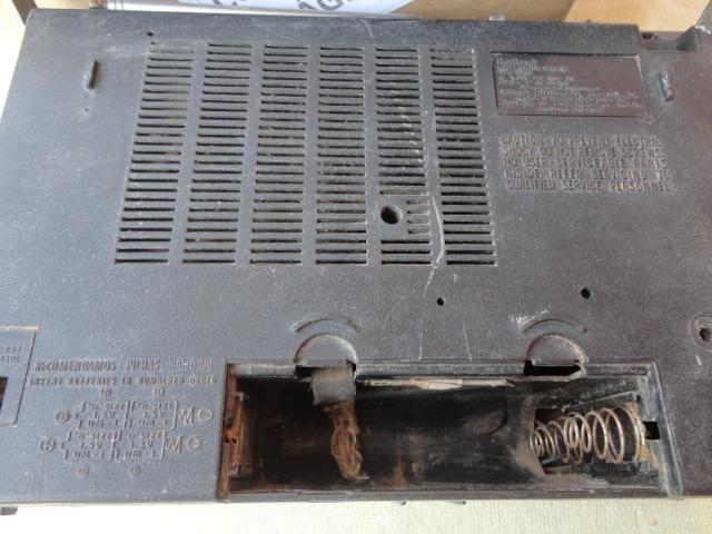 Antigo Rádio Toca Fita National No Estado Leia Cpo Descrição - Foto 2