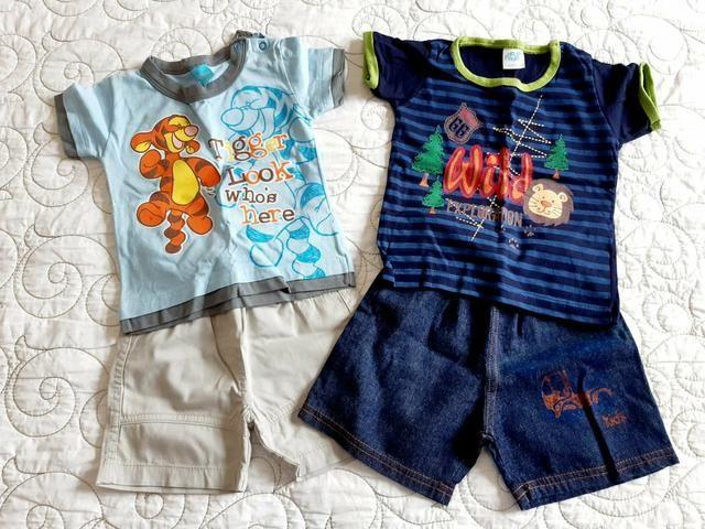 Kit conjunto Infantil