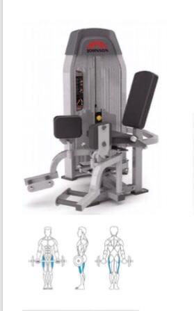 Adductor Johnson Sl165. (novíssimo) (sem uso)